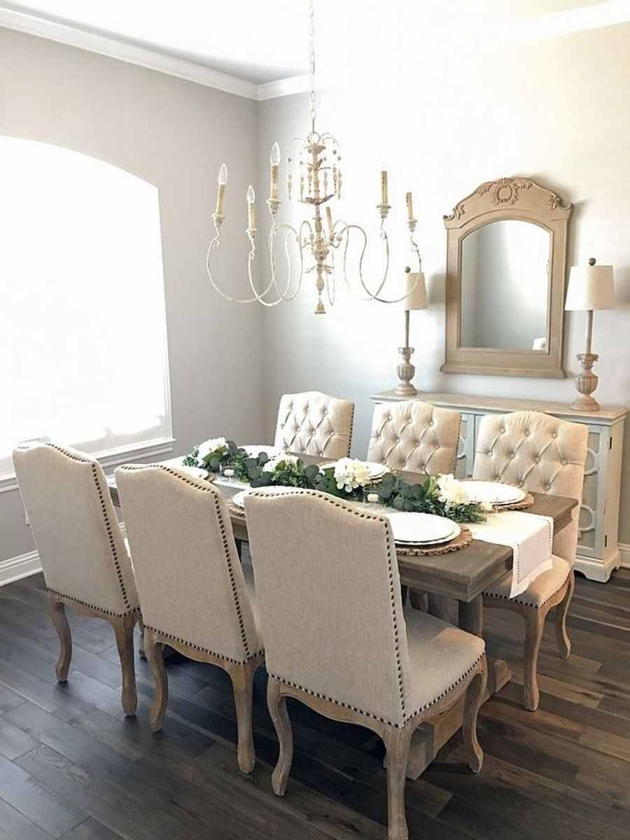 Brilliant French Dining Room Decor Ideas 03