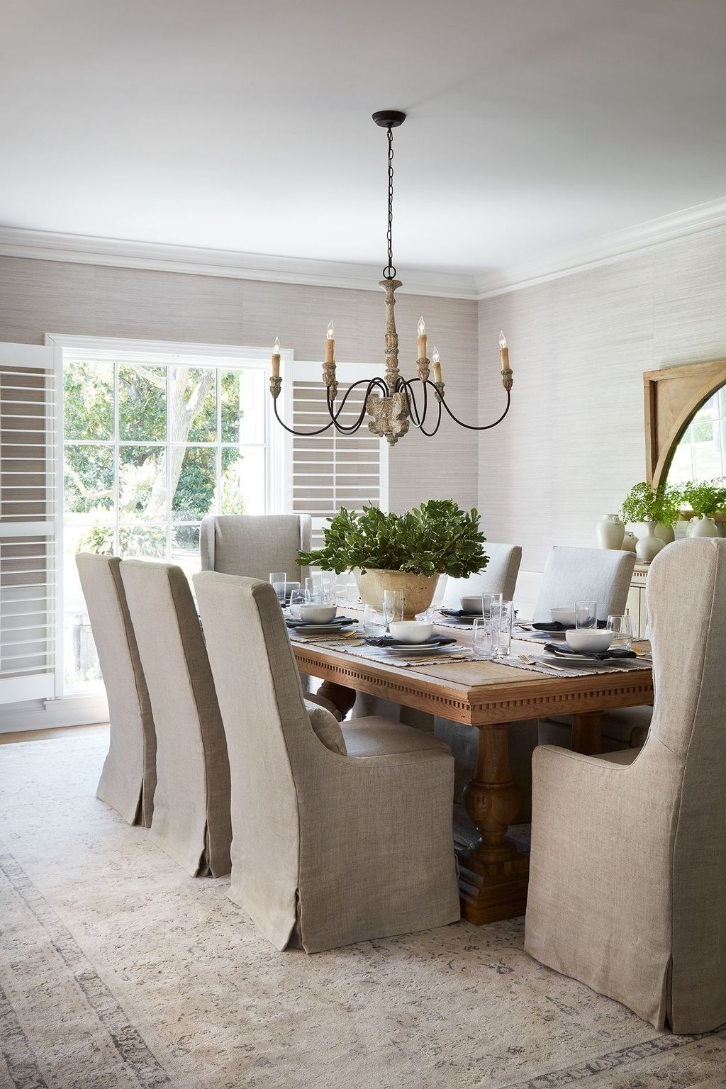 Brilliant French Dining Room Decor Ideas 09
