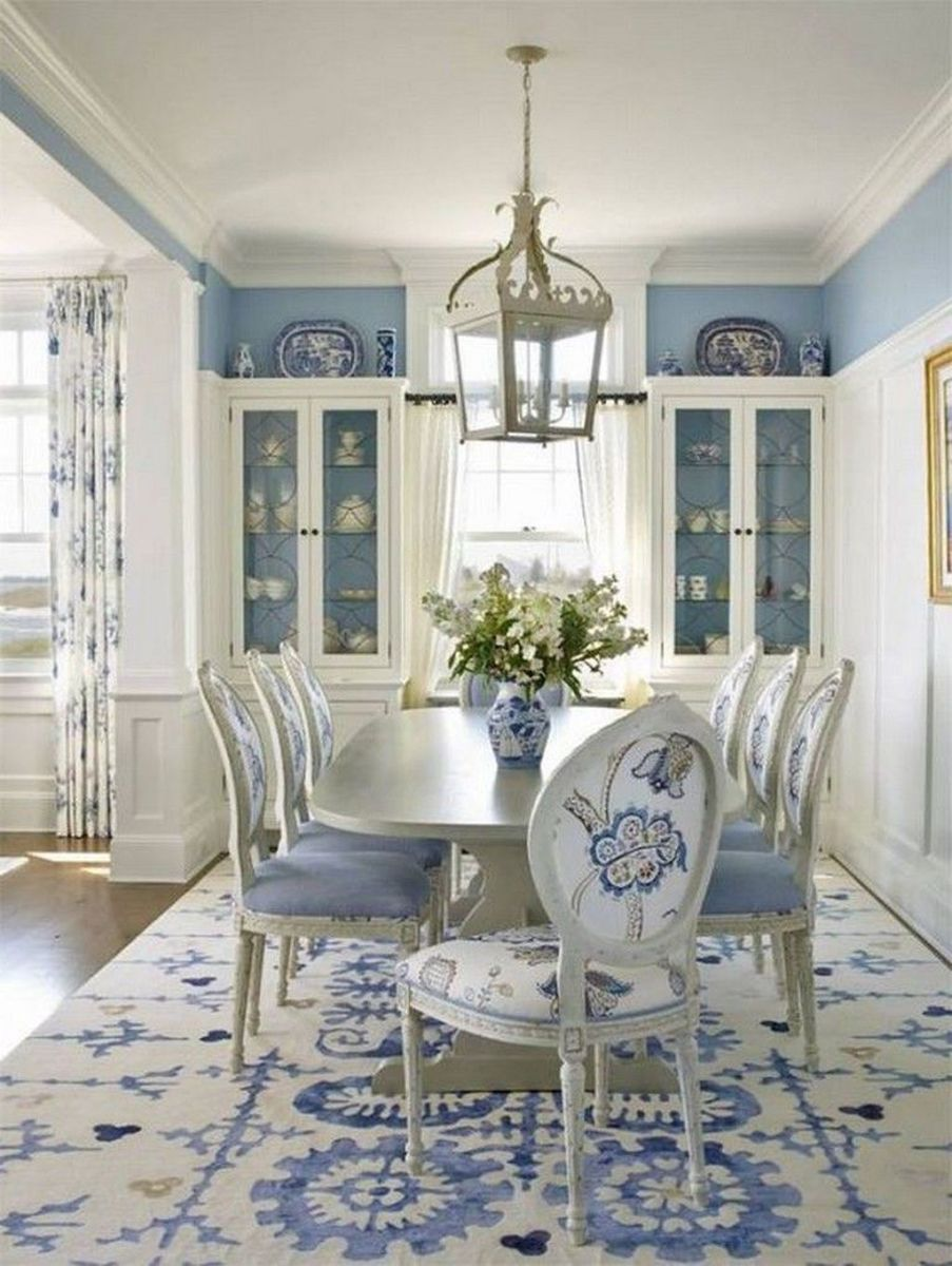 Brilliant French Dining Room Decor Ideas 14