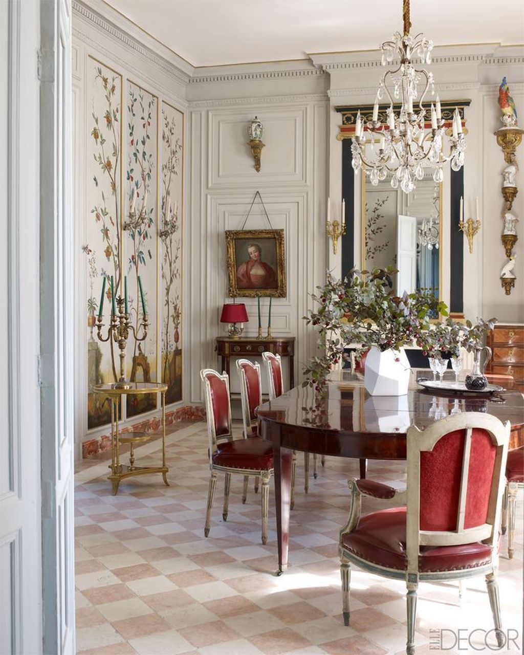 Brilliant French Dining Room Decor Ideas 29