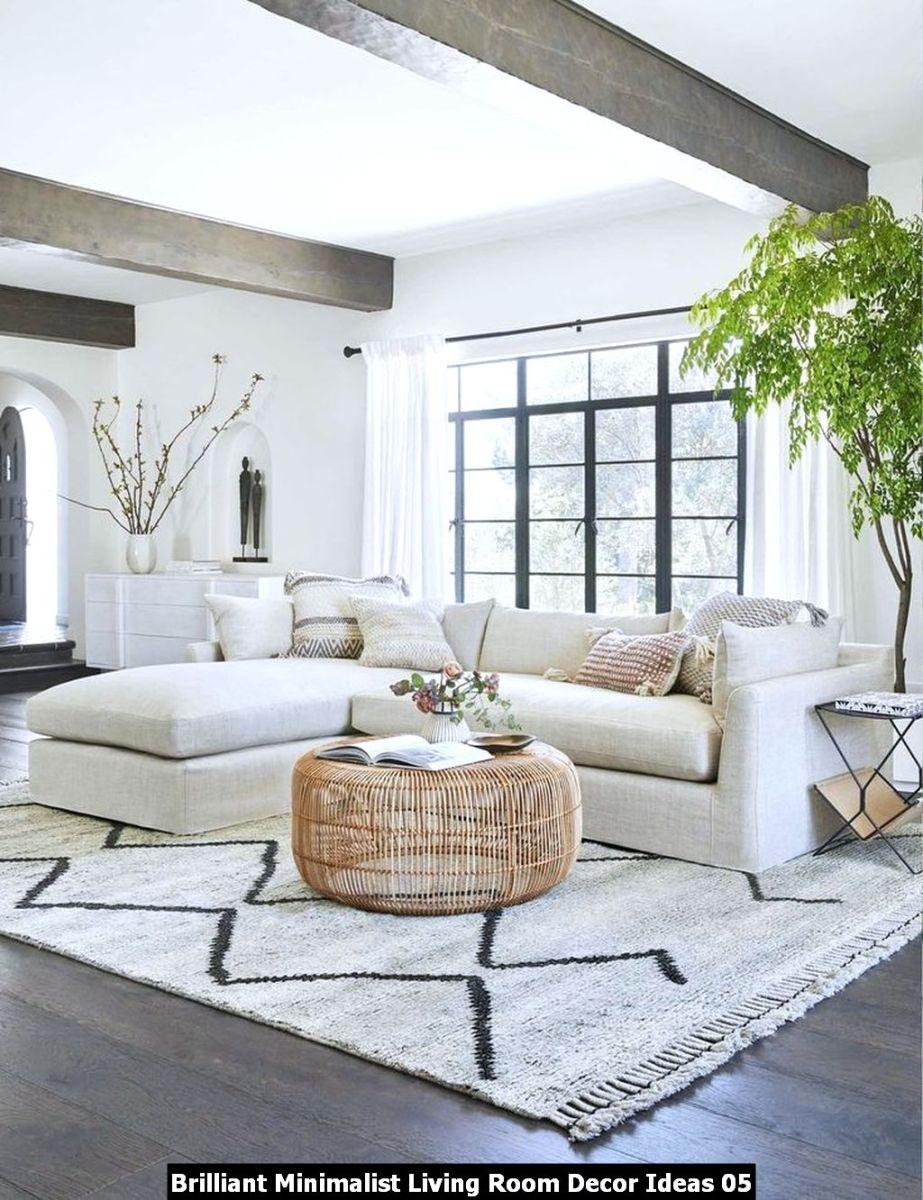 Brilliant Minimalist Living Room Decor Ideas 05