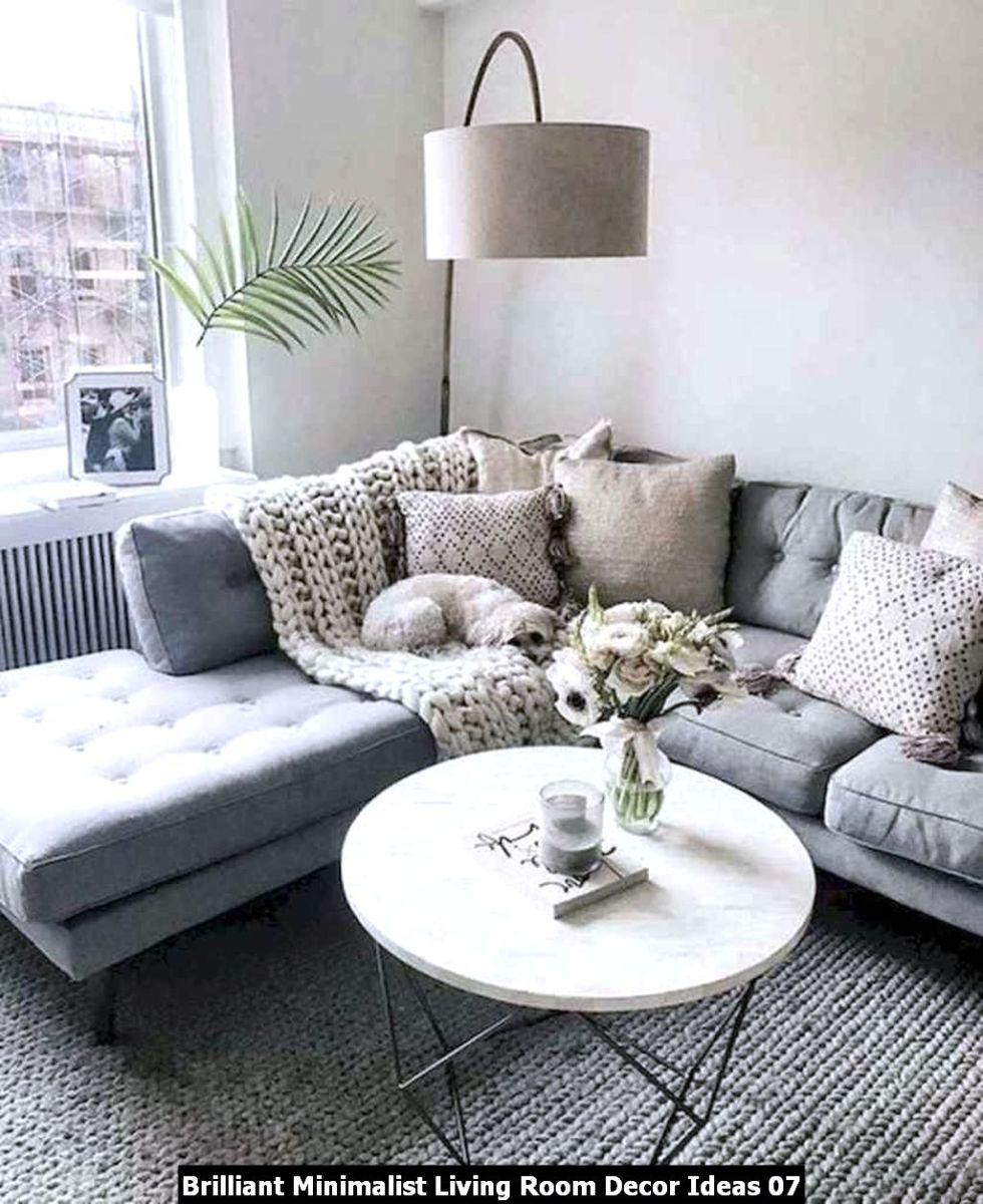 Brilliant Minimalist Living Room Decor Ideas 07