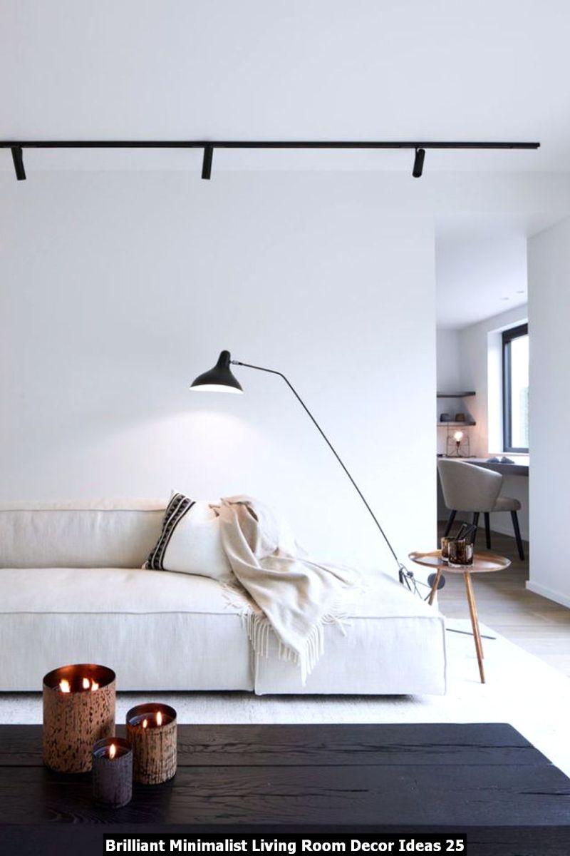 Brilliant Minimalist Living Room Decor Ideas 25