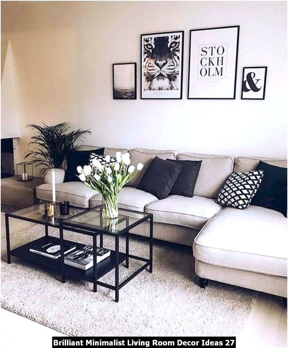 Brilliant Minimalist Living Room Decor Ideas 27