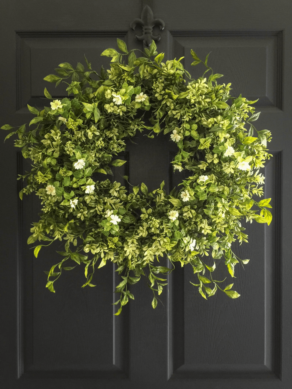 Brilliant Spring Door Wreaths Design Ideas 02