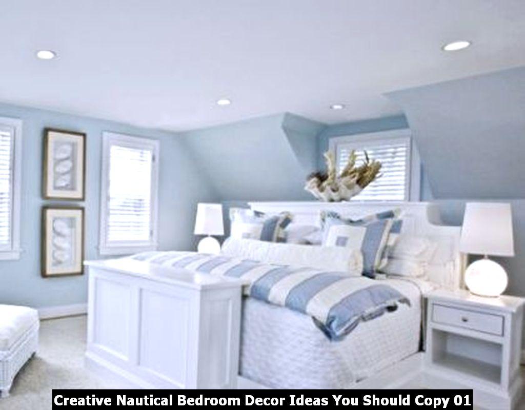 Creative Nautical Bedroom Decor Ideas You Should Copy 01