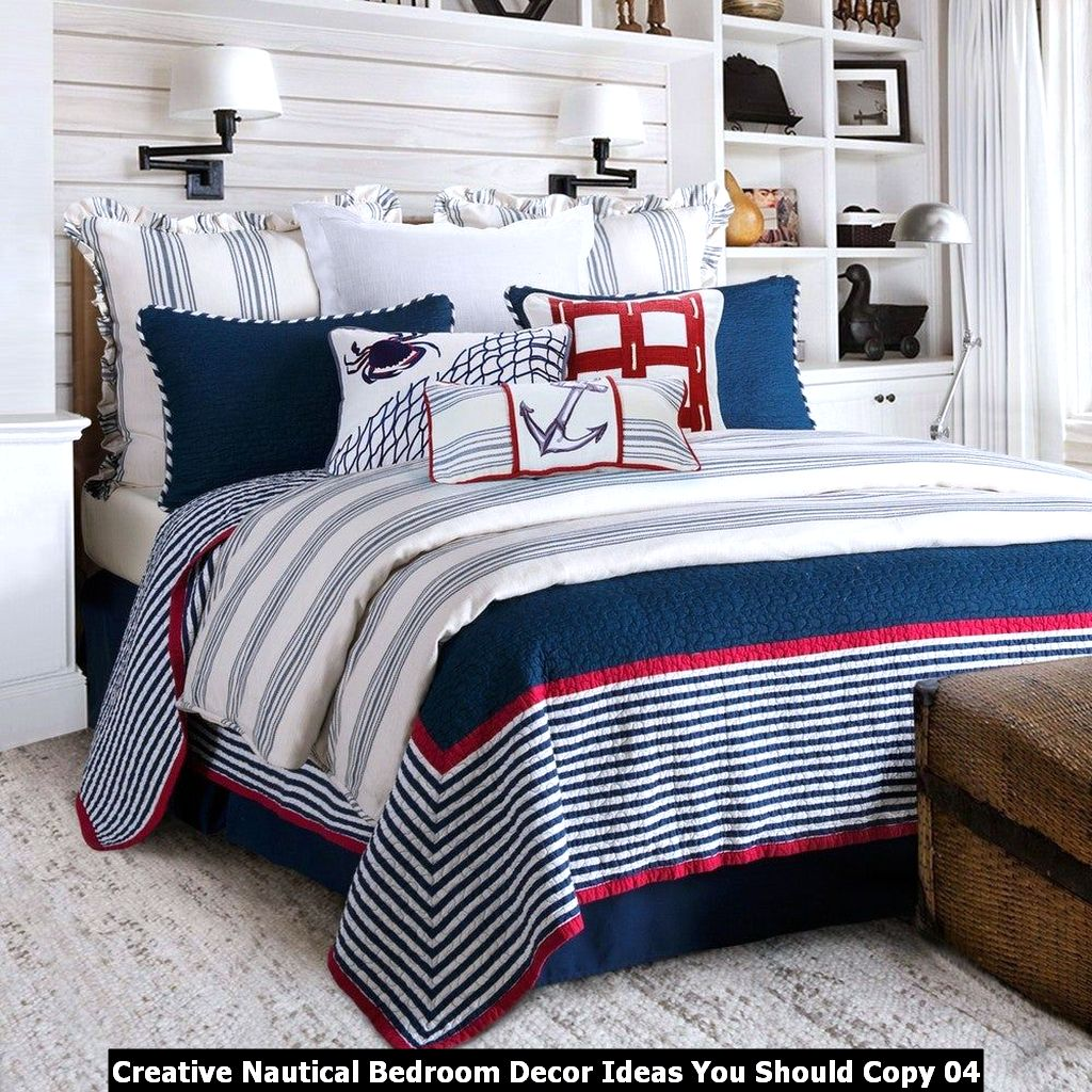 Creative Nautical Bedroom Decor Ideas You Should Copy 04