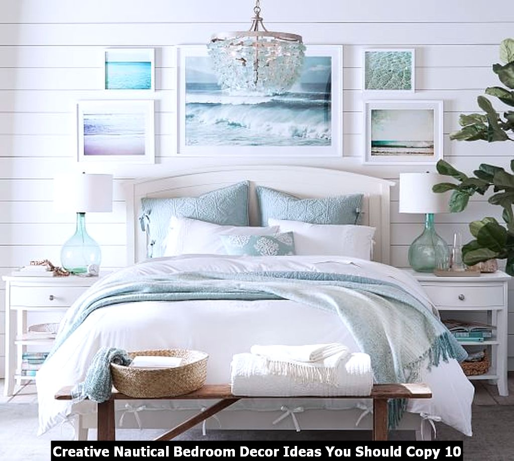 Creative Nautical Bedroom Decor Ideas You Should Copy 10