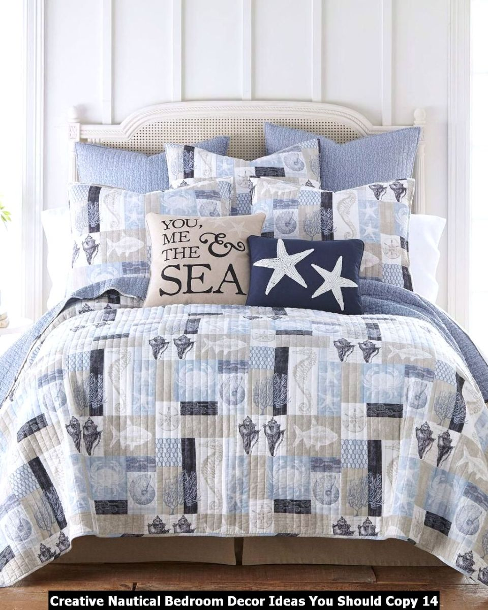 Creative Nautical Bedroom Decor Ideas You Should Copy 14