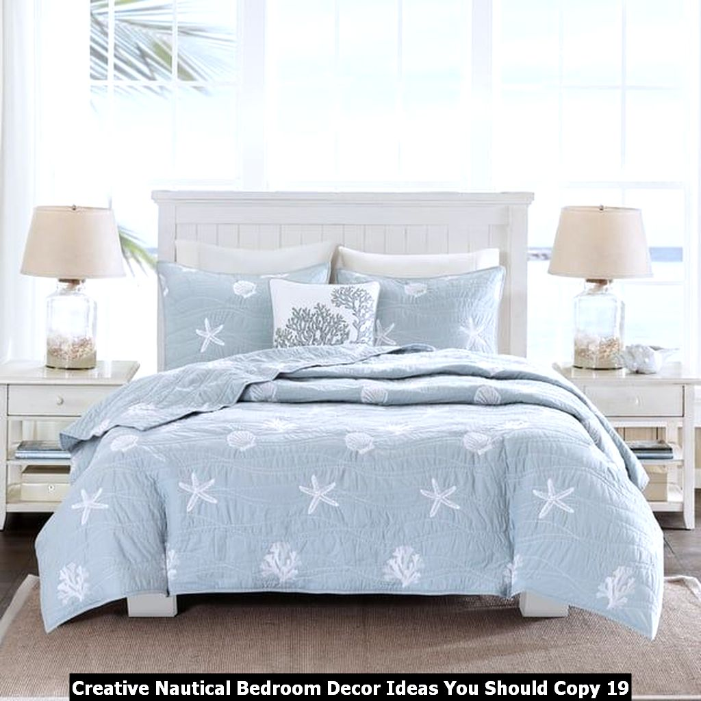 Creative Nautical Bedroom Decor Ideas You Should Copy 19