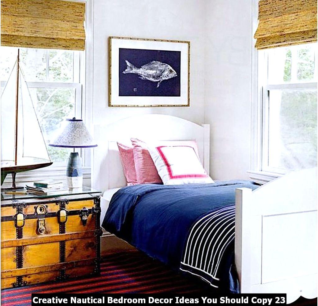 Creative Nautical Bedroom Decor Ideas You Should Copy 23