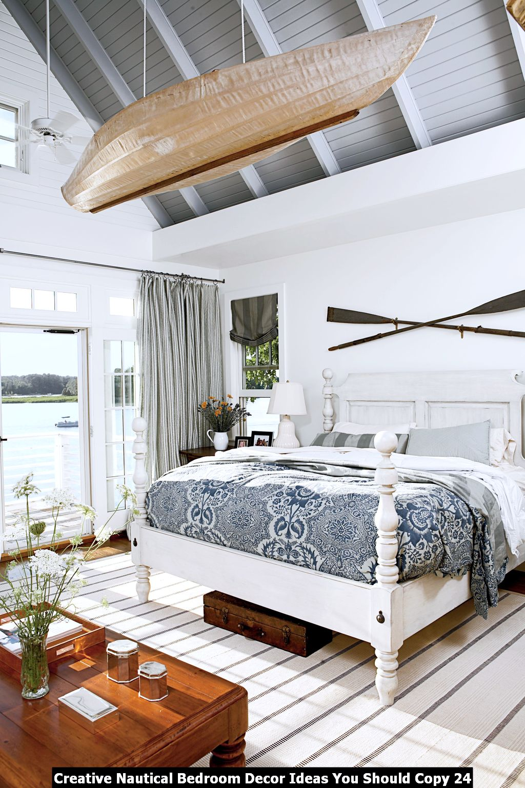 Creative Nautical Bedroom Decor Ideas You Should Copy 24