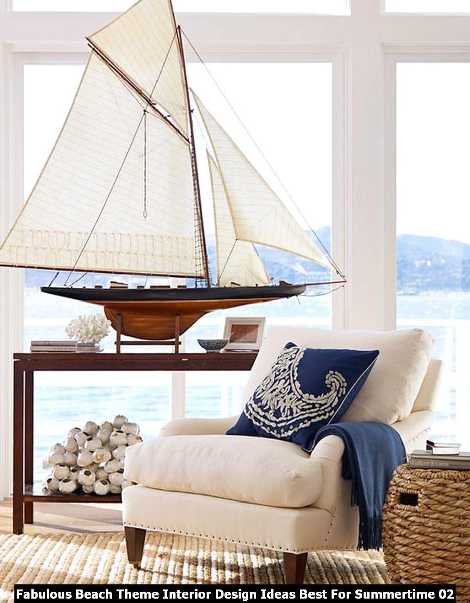 Fabulous Beach Theme Interior Design Ideas Best For Summertime 02