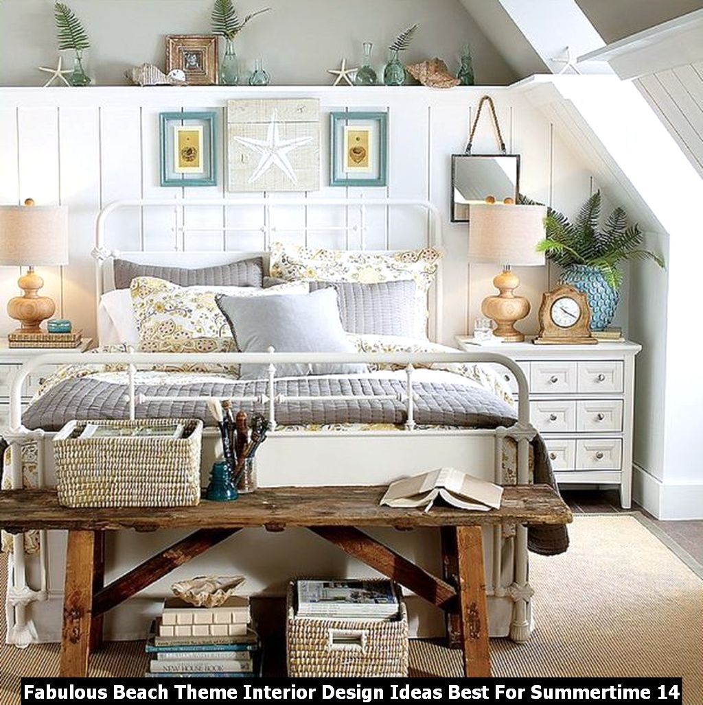 Fabulous Beach Theme Interior Design Ideas Best For Summertime 14
