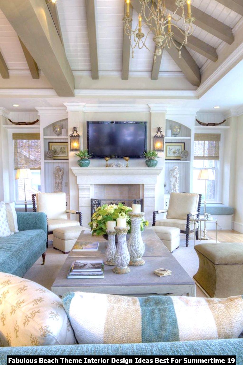 Fabulous Beach Theme Interior Design Ideas Best For Summertime 19