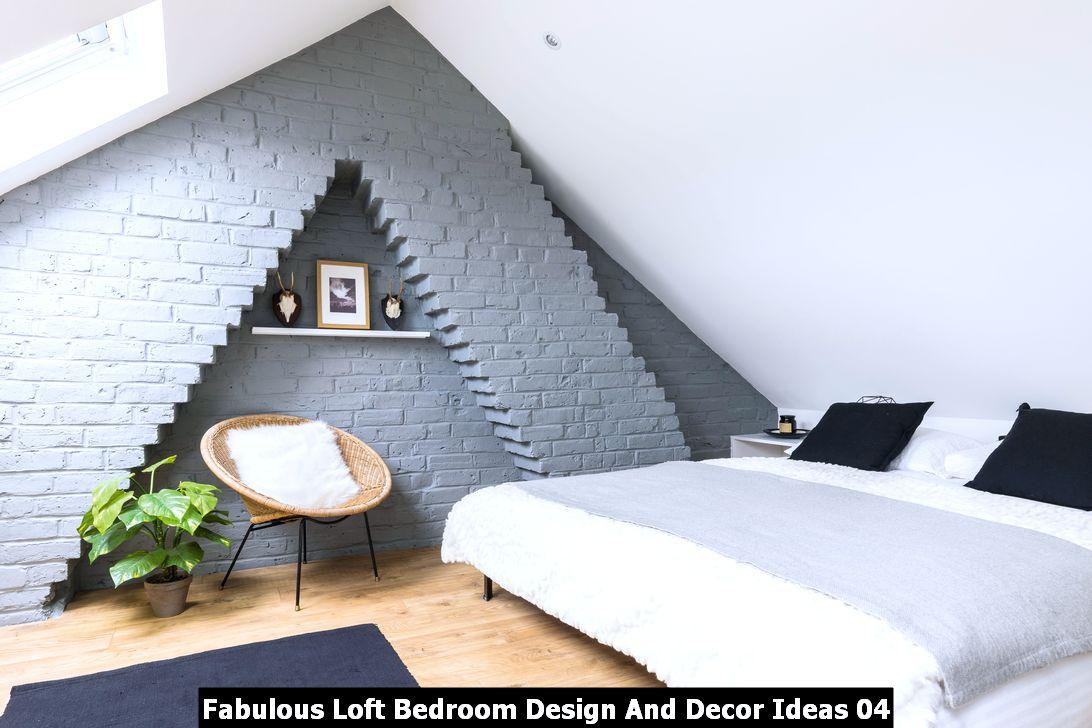 Fabulous Loft Bedroom Design And Decor Ideas 04
