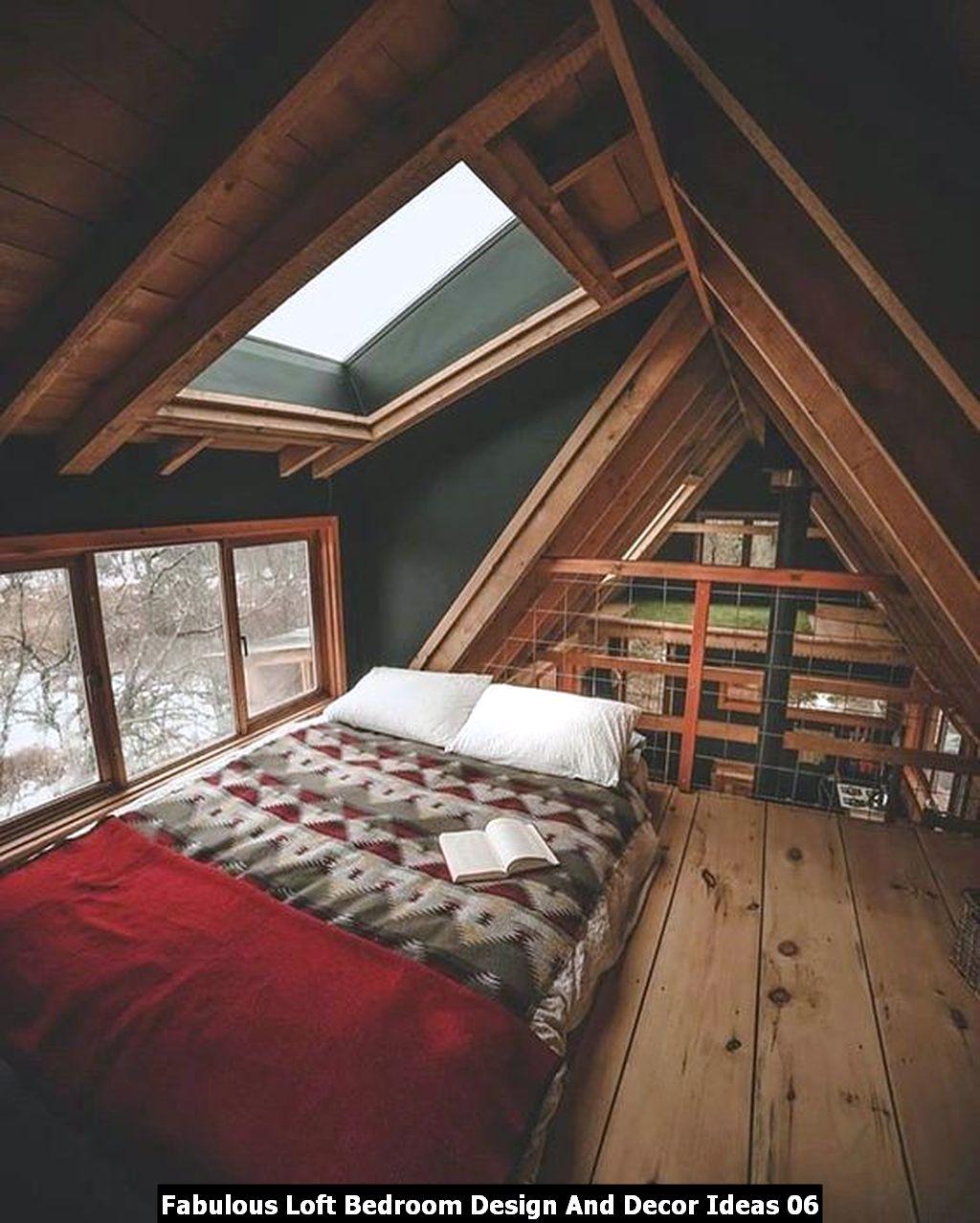 Fabulous Loft Bedroom Design And Decor Ideas 06