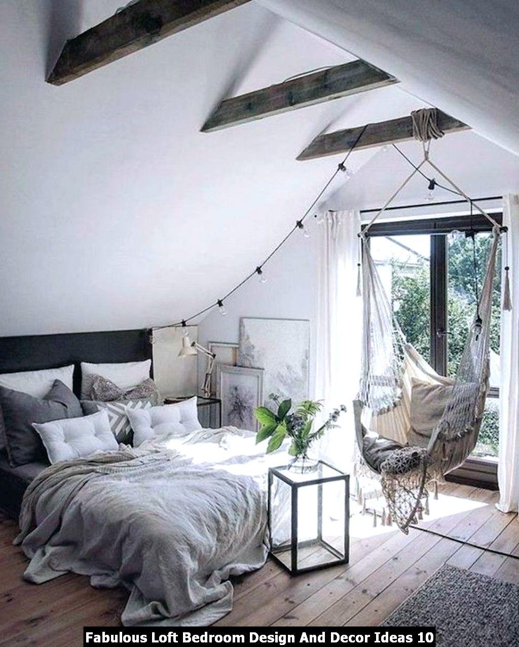 Fabulous Loft Bedroom Design And Decor Ideas 10