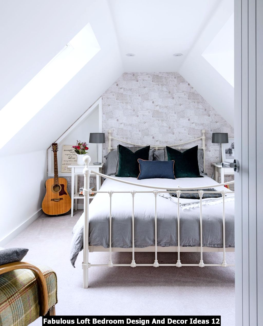 Fabulous Loft Bedroom Design And Decor Ideas 12