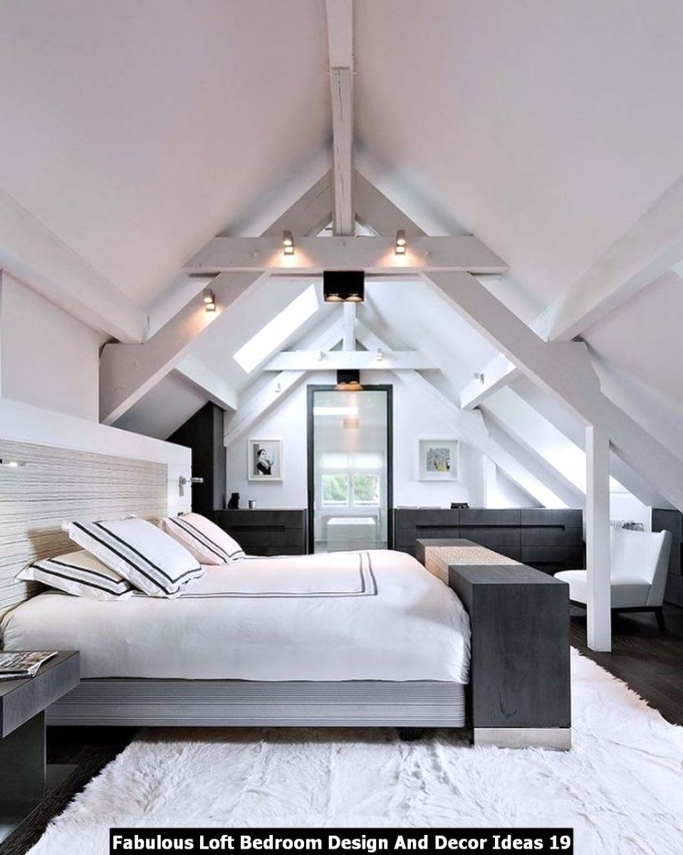 Fabulous Loft Bedroom Design And Decor Ideas 19