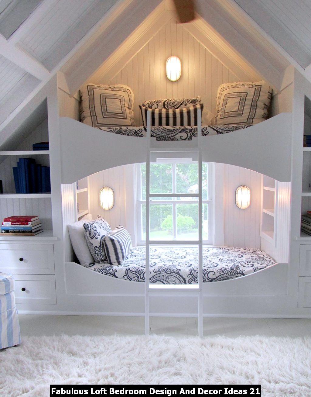 Fabulous Loft Bedroom Design And Decor Ideas 21