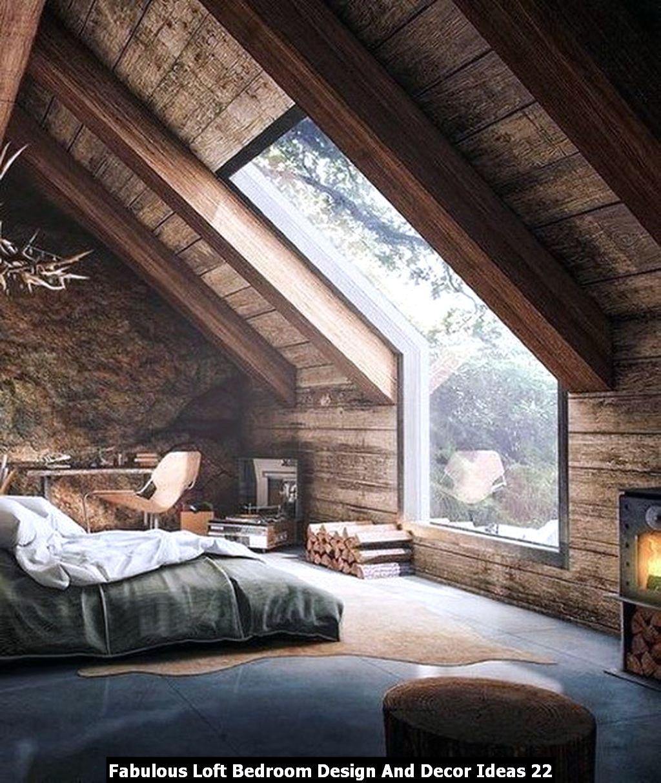 Fabulous Loft Bedroom Design And Decor Ideas 22