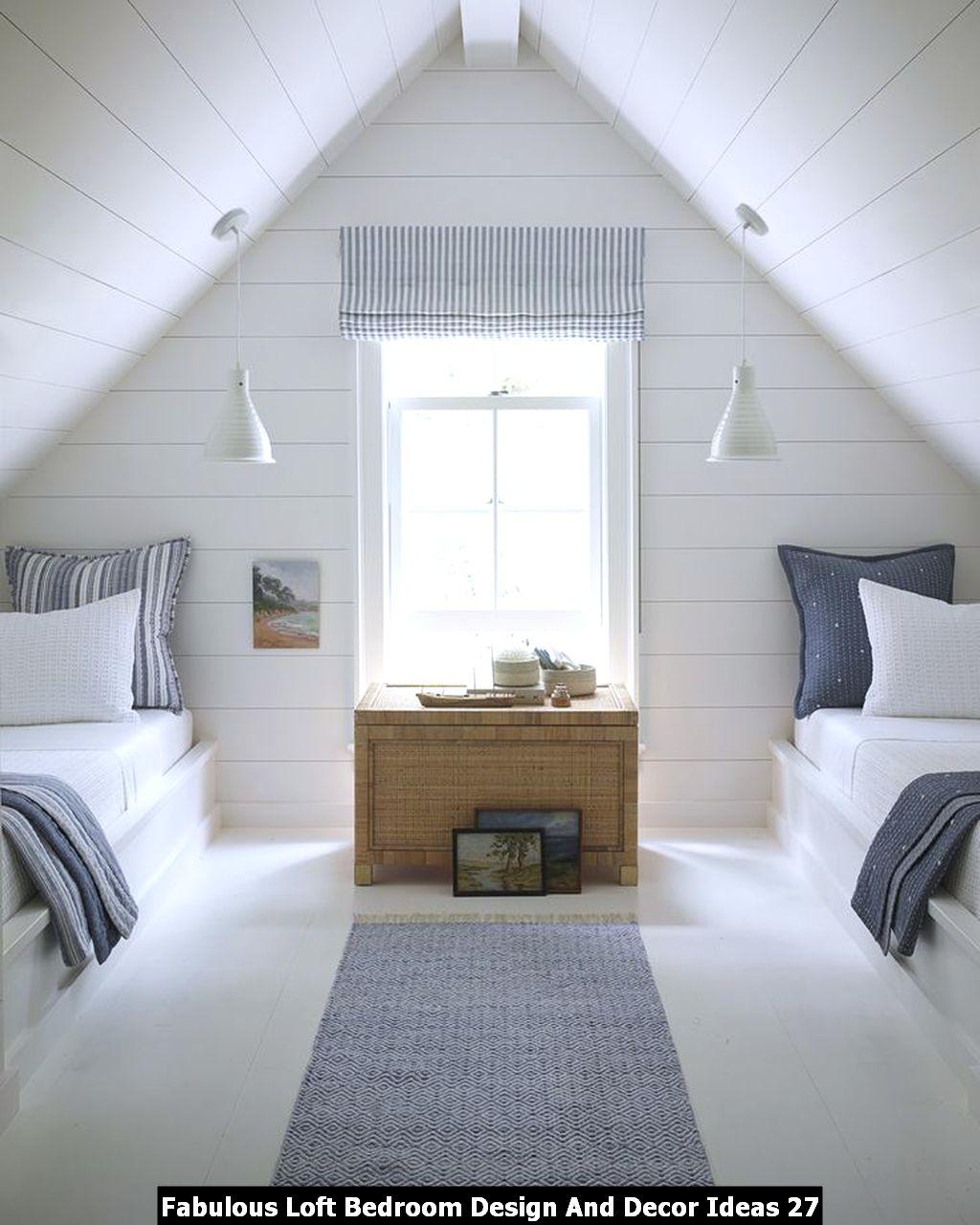 Fabulous Loft Bedroom Design And Decor Ideas 27