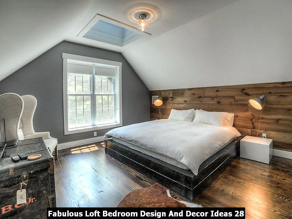 Fabulous Loft Bedroom Design And Decor Ideas 28