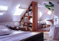 Fabulous Loft Bedroom Design And Decor Ideas 30
