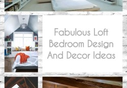 Fabulous Loft Bedroom Design And Decor Ideas