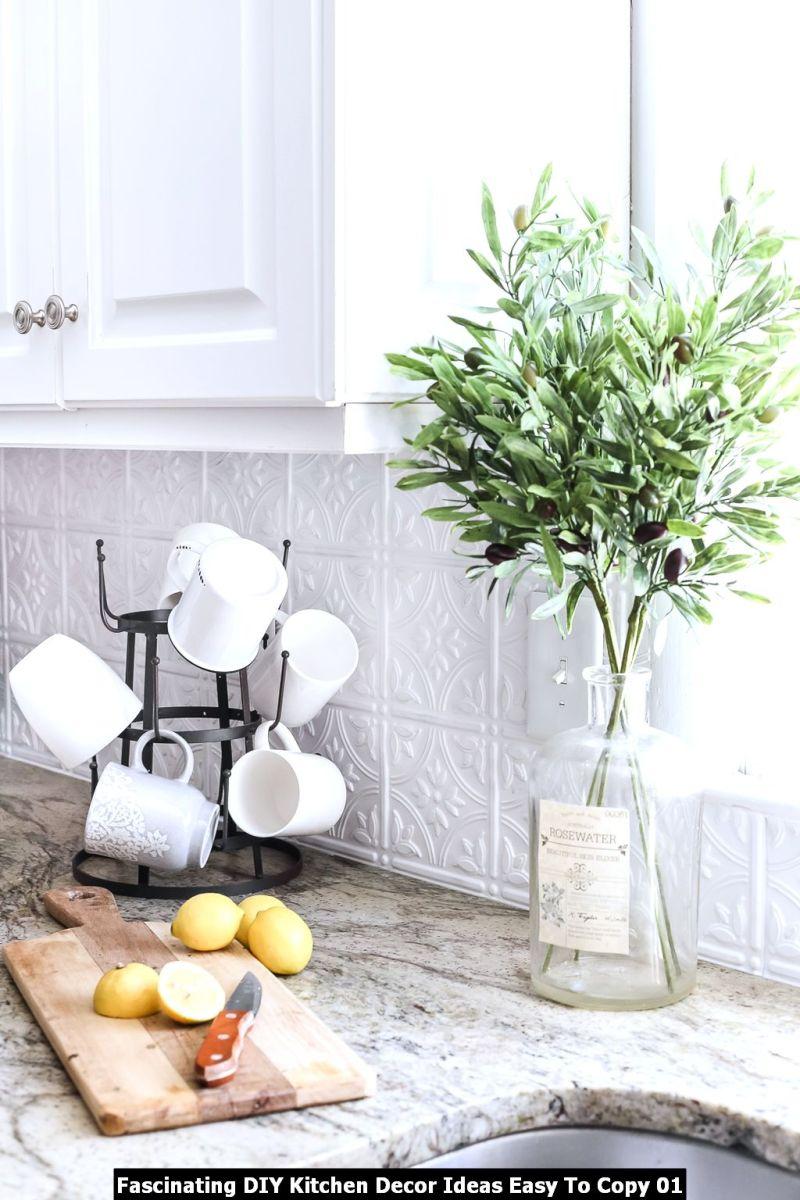Fascinating DIY Kitchen Decor Ideas Easy To Copy 01