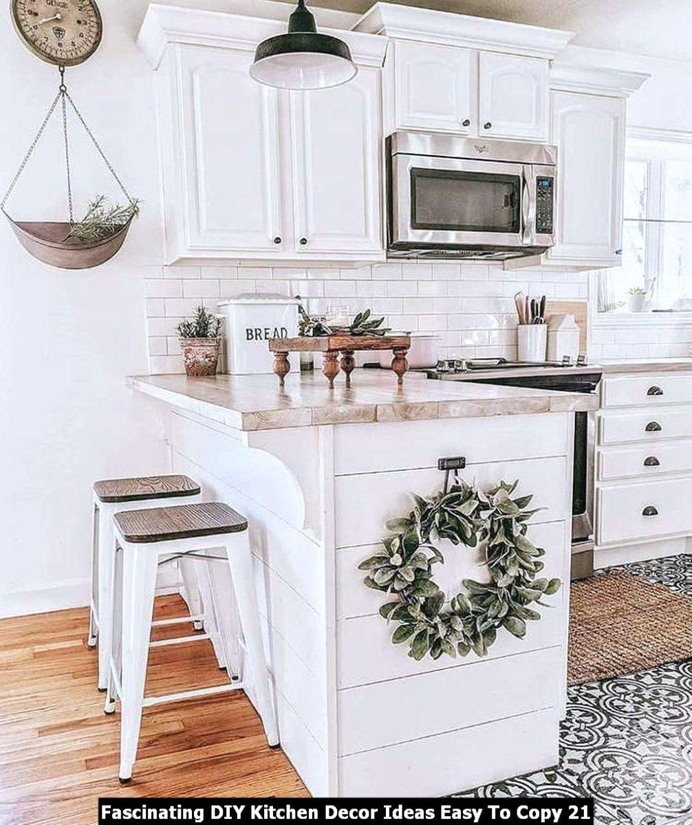 Fascinating DIY Kitchen Decor Ideas Easy To Copy 21