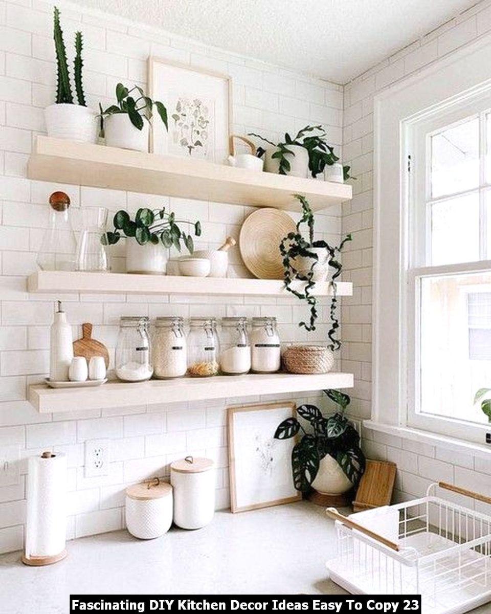 Fascinating DIY Kitchen Decor Ideas Easy To Copy 23