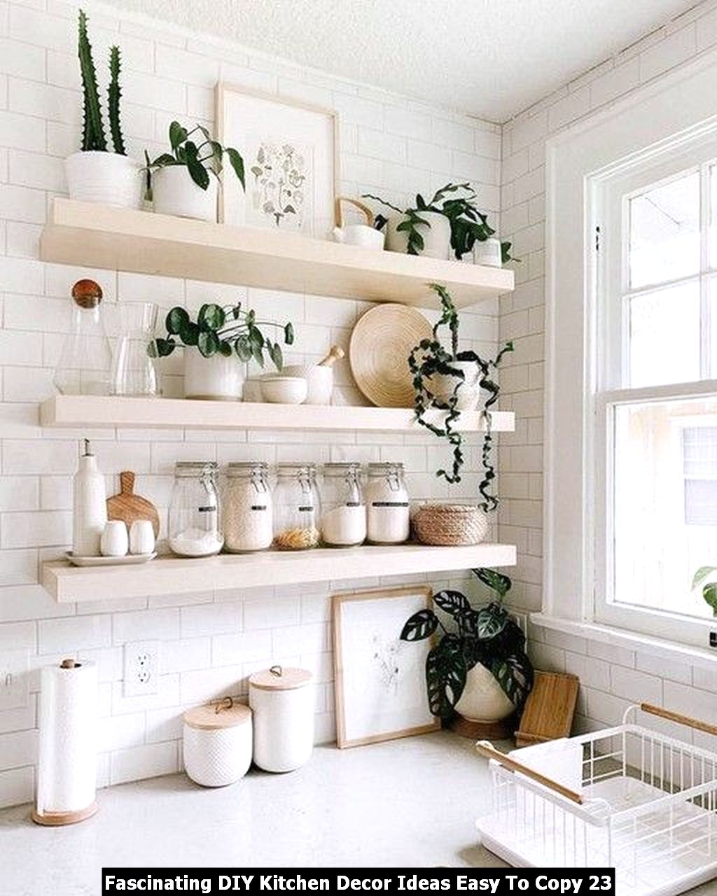 Fascinating DIY Kitchen Decor Ideas Easy To Copy 23