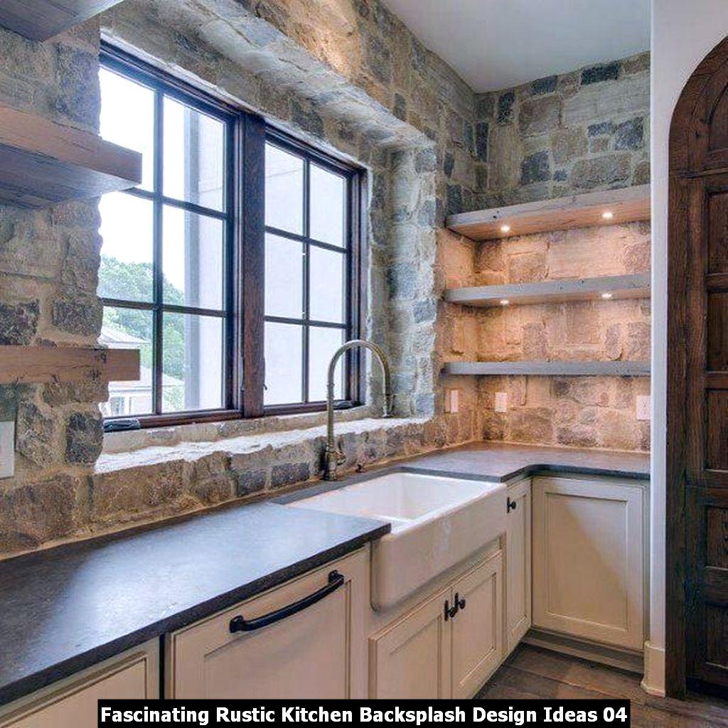 Fascinating Rustic Kitchen Backsplash Design Ideas 04