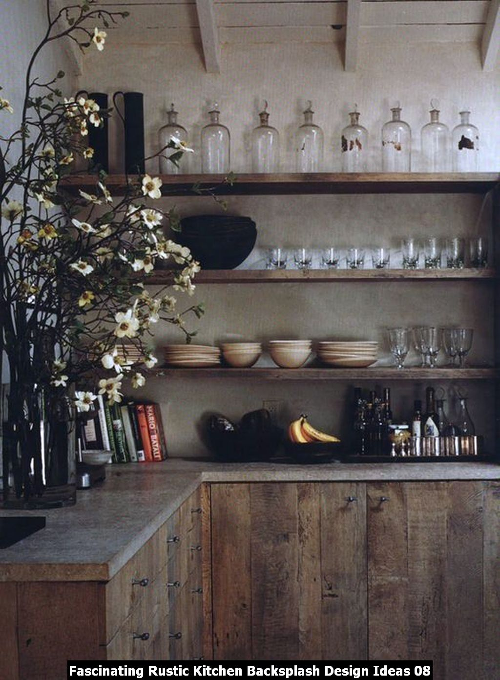 Fascinating Rustic Kitchen Backsplash Design Ideas 08