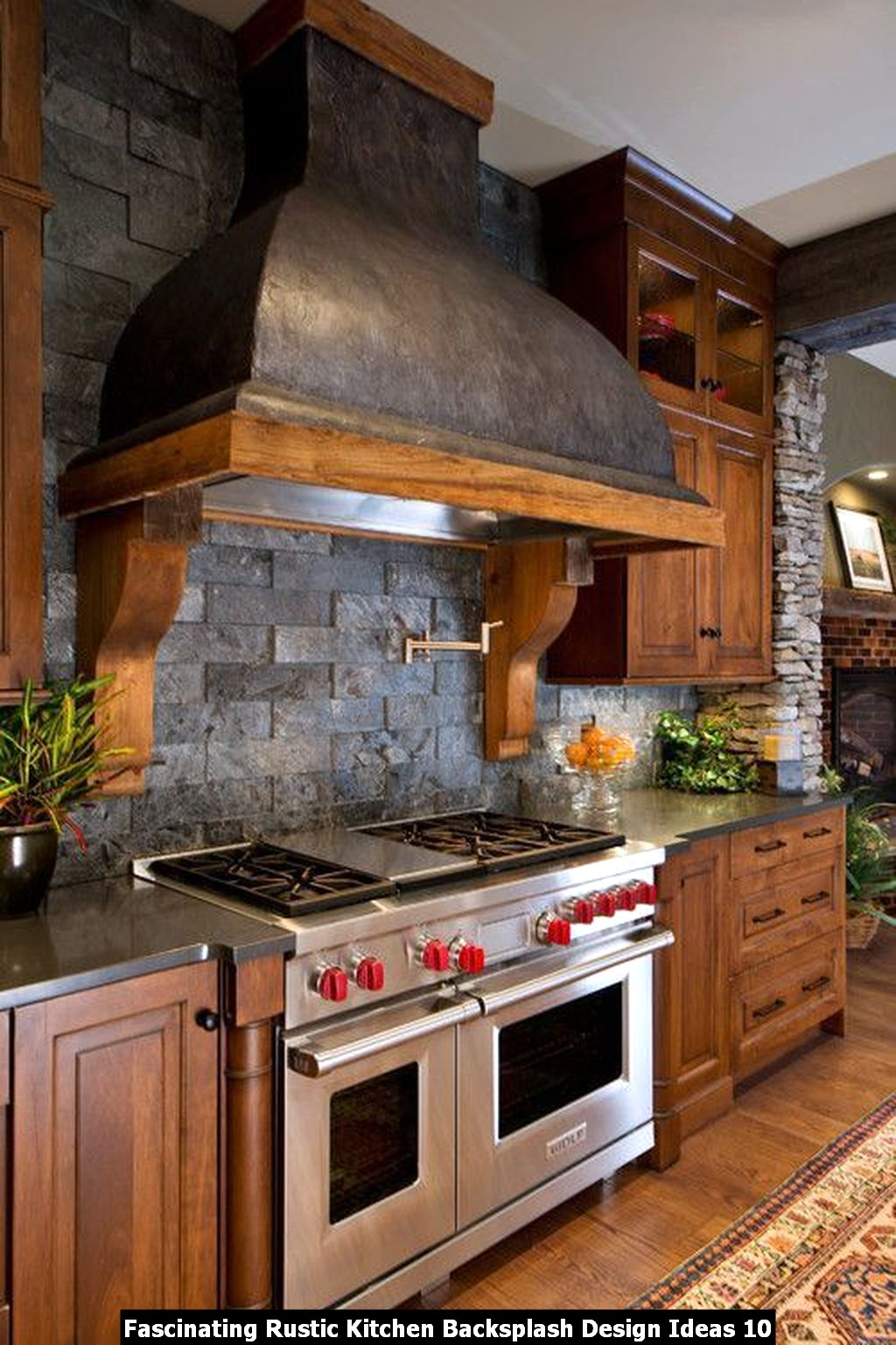 Fascinating Rustic Kitchen Backsplash Design Ideas 10