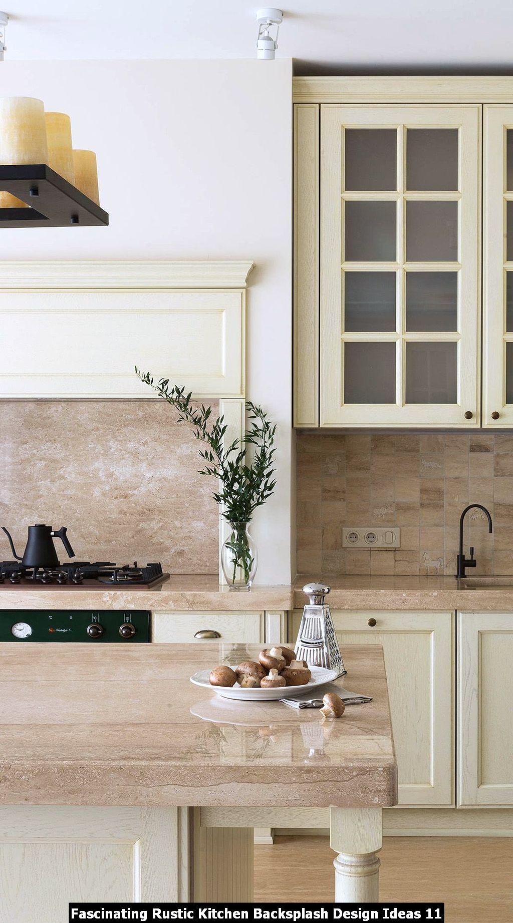 Fascinating Rustic Kitchen Backsplash Design Ideas 11