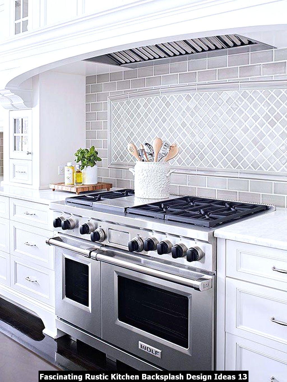 Fascinating Rustic Kitchen Backsplash Design Ideas 13