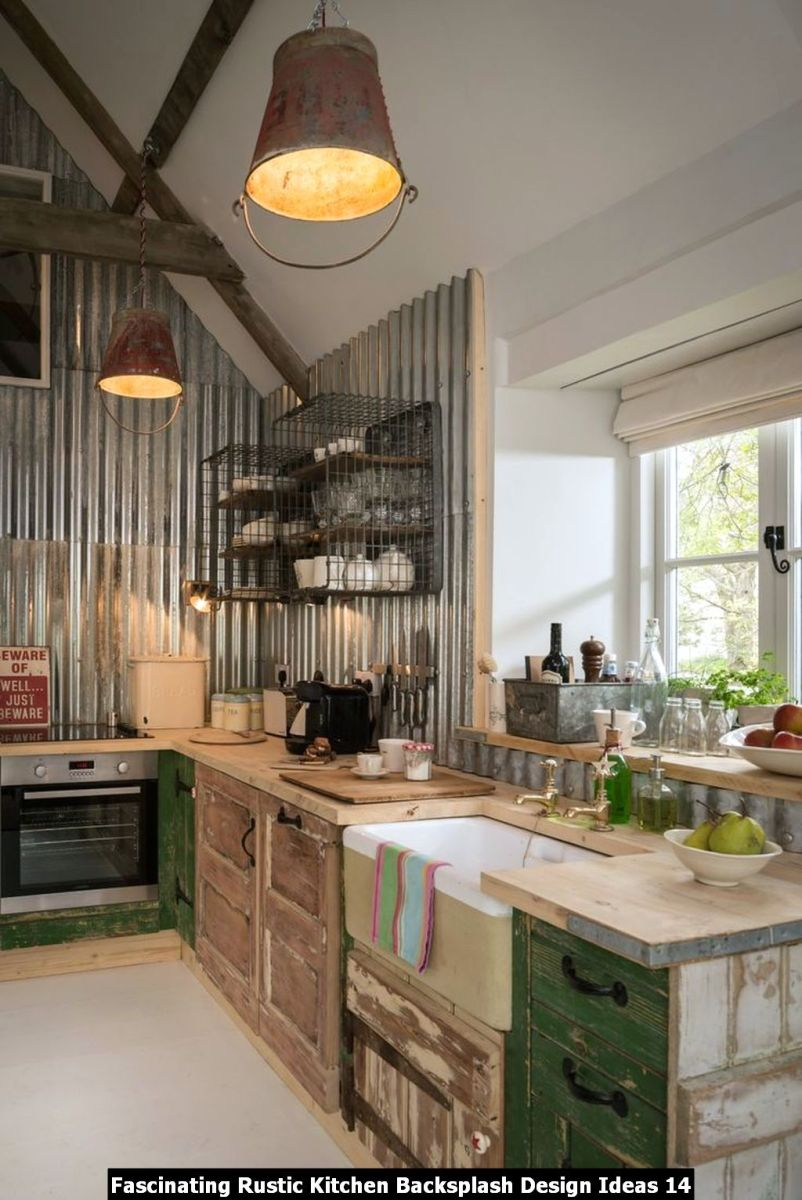 Fascinating Rustic Kitchen Backsplash Design Ideas 14