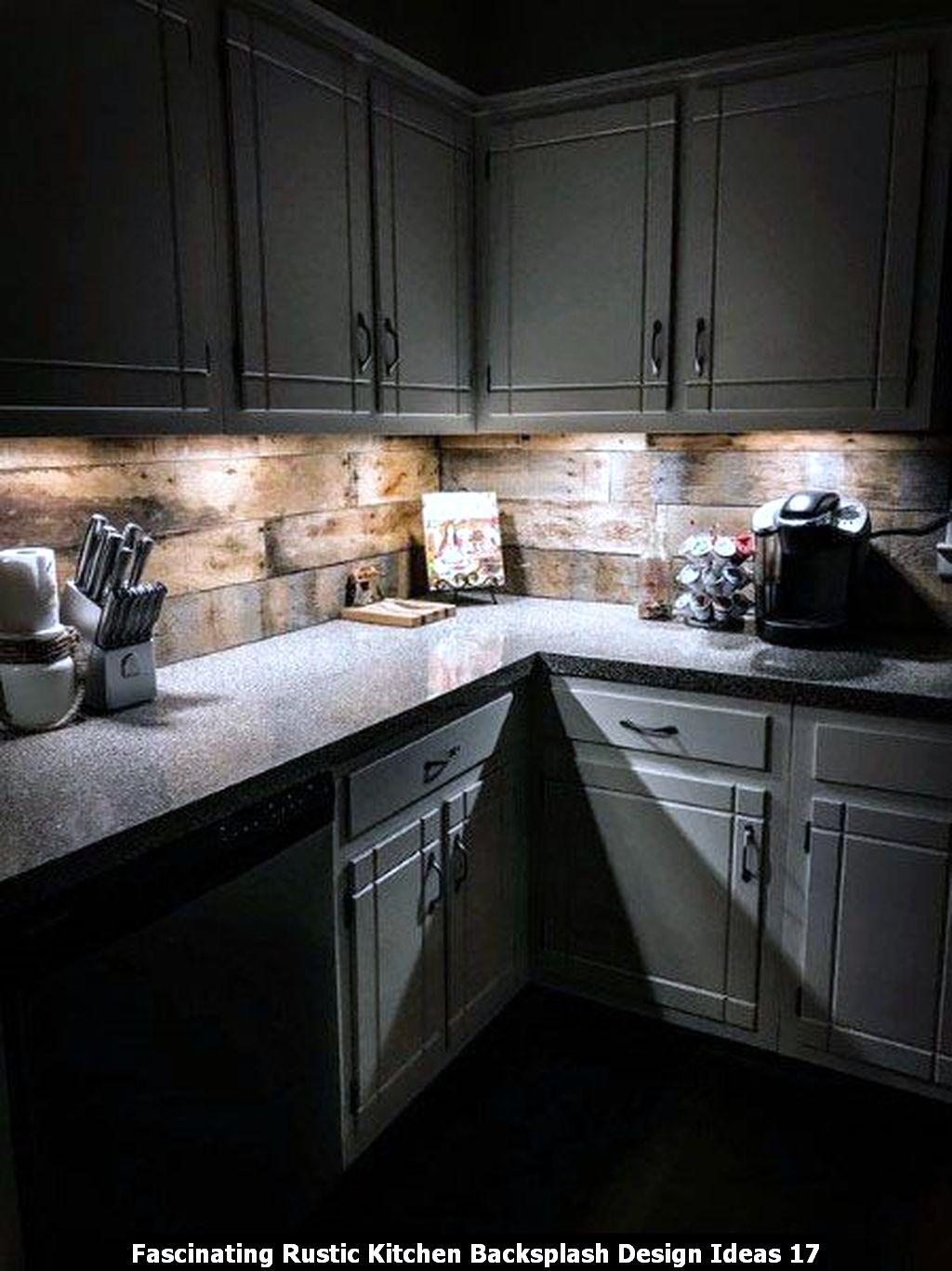 Fascinating Rustic Kitchen Backsplash Design Ideas 17