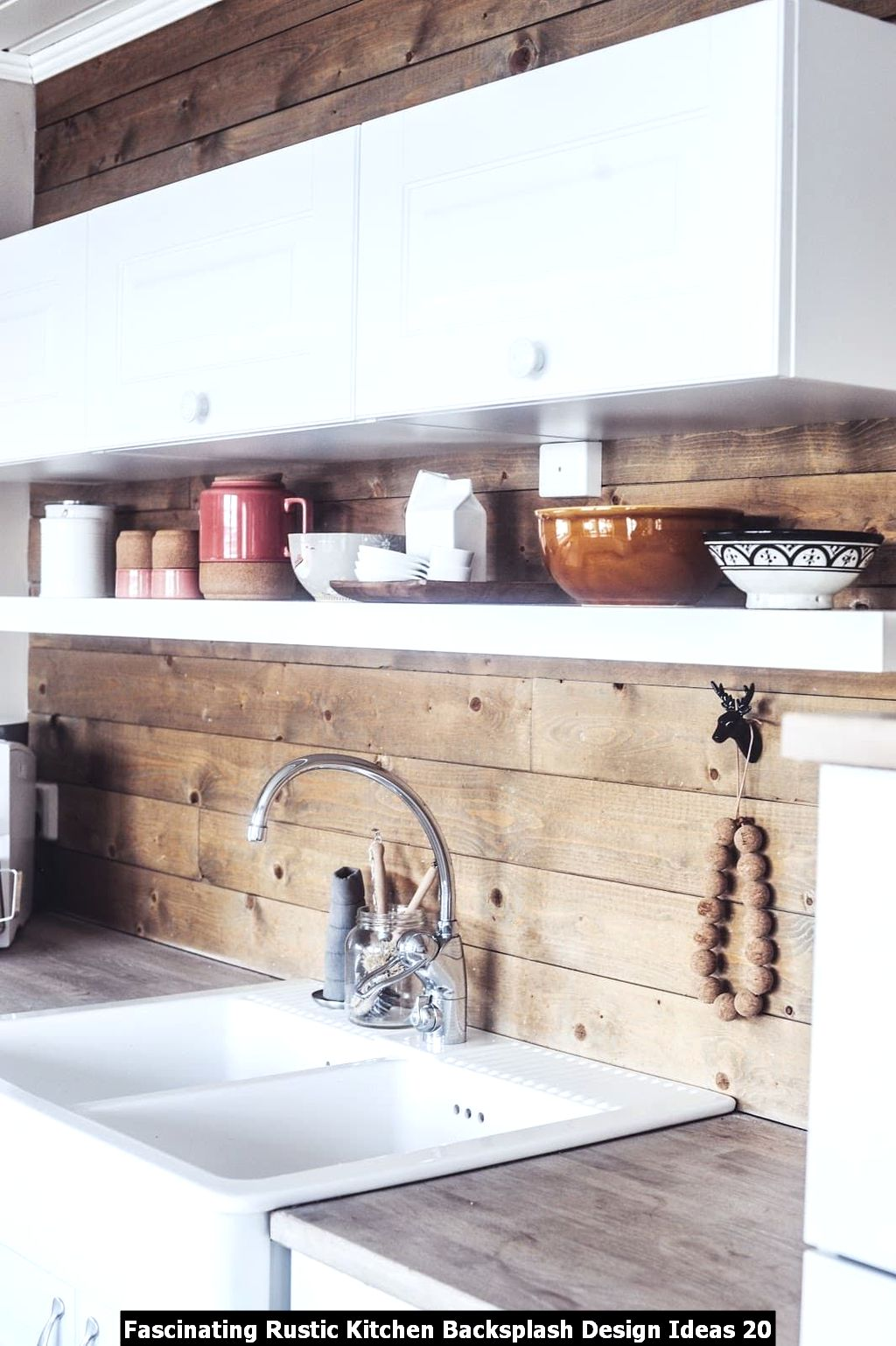 Fascinating Rustic Kitchen Backsplash Design Ideas 20