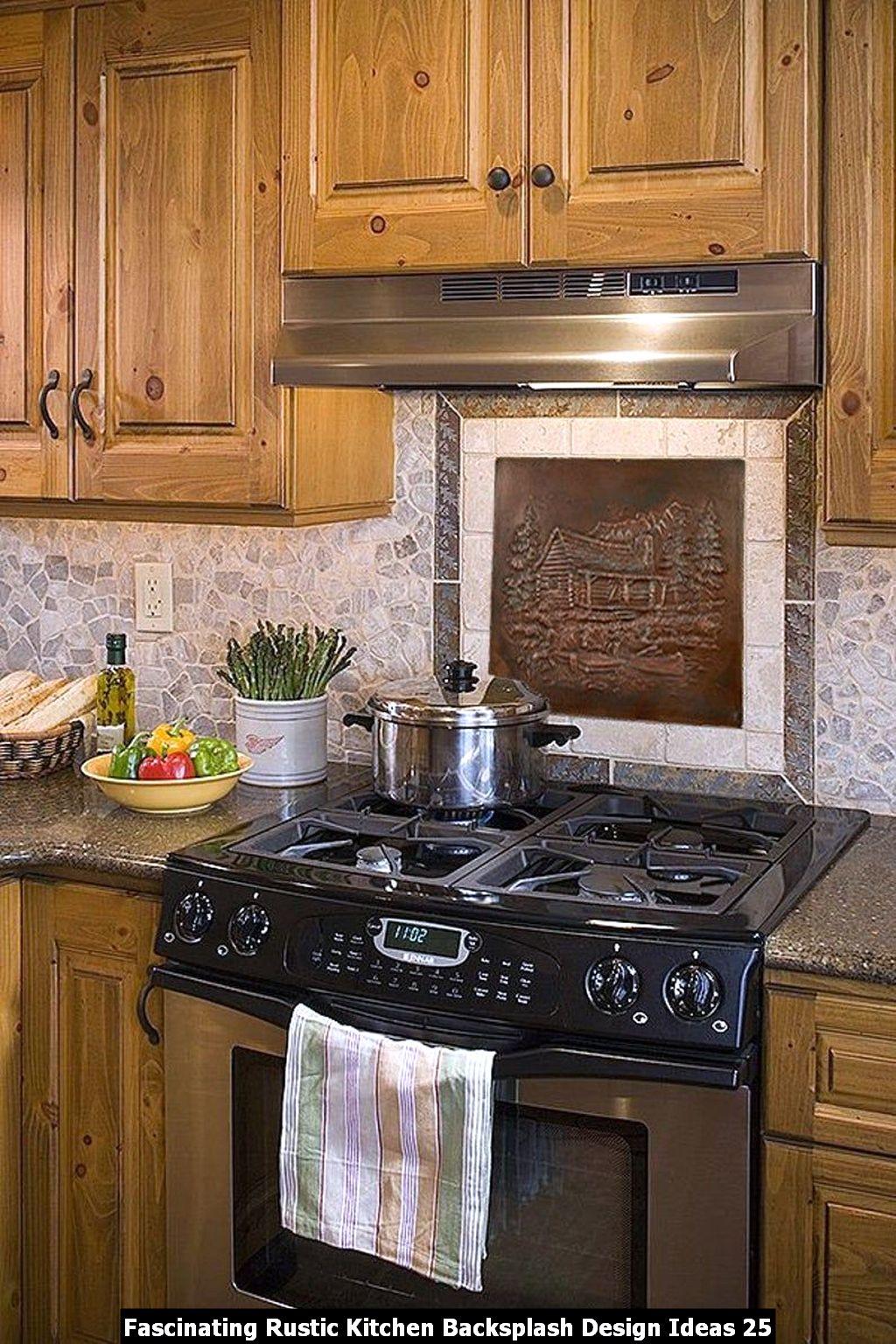 Fascinating Rustic Kitchen Backsplash Design Ideas 25