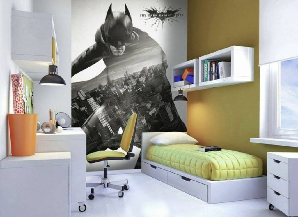 Fascinating Superhero Theme Bedroom Decor Ideas 03