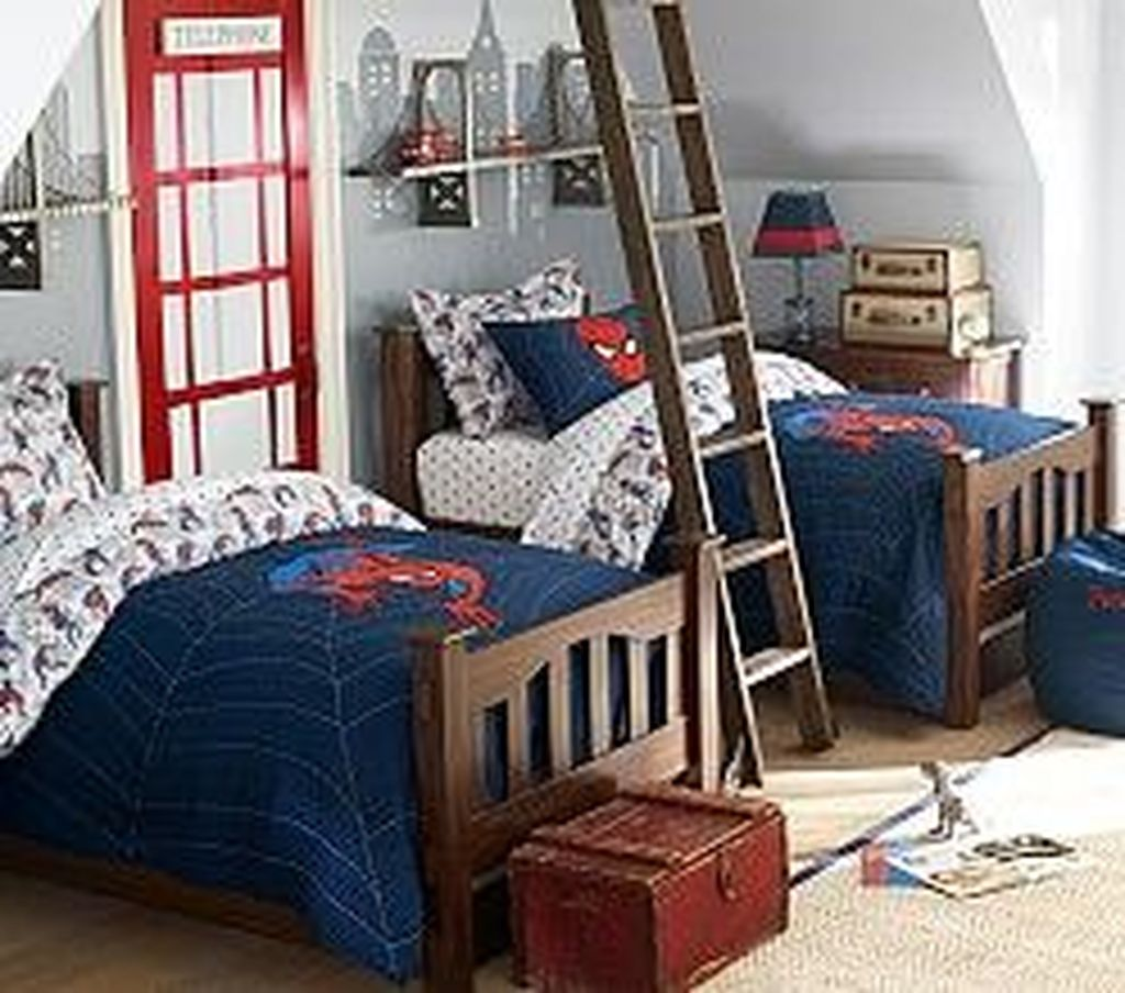 Fascinating Superhero Theme Bedroom Decor Ideas 14