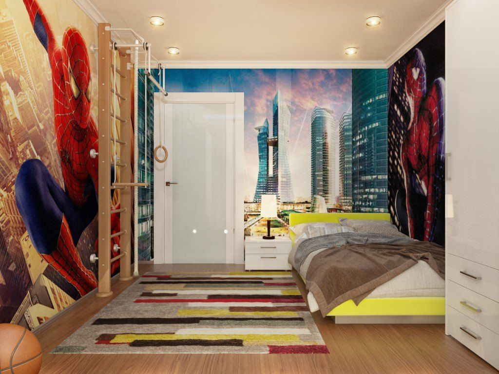 Fascinating Superhero Theme Bedroom Decor Ideas 17
