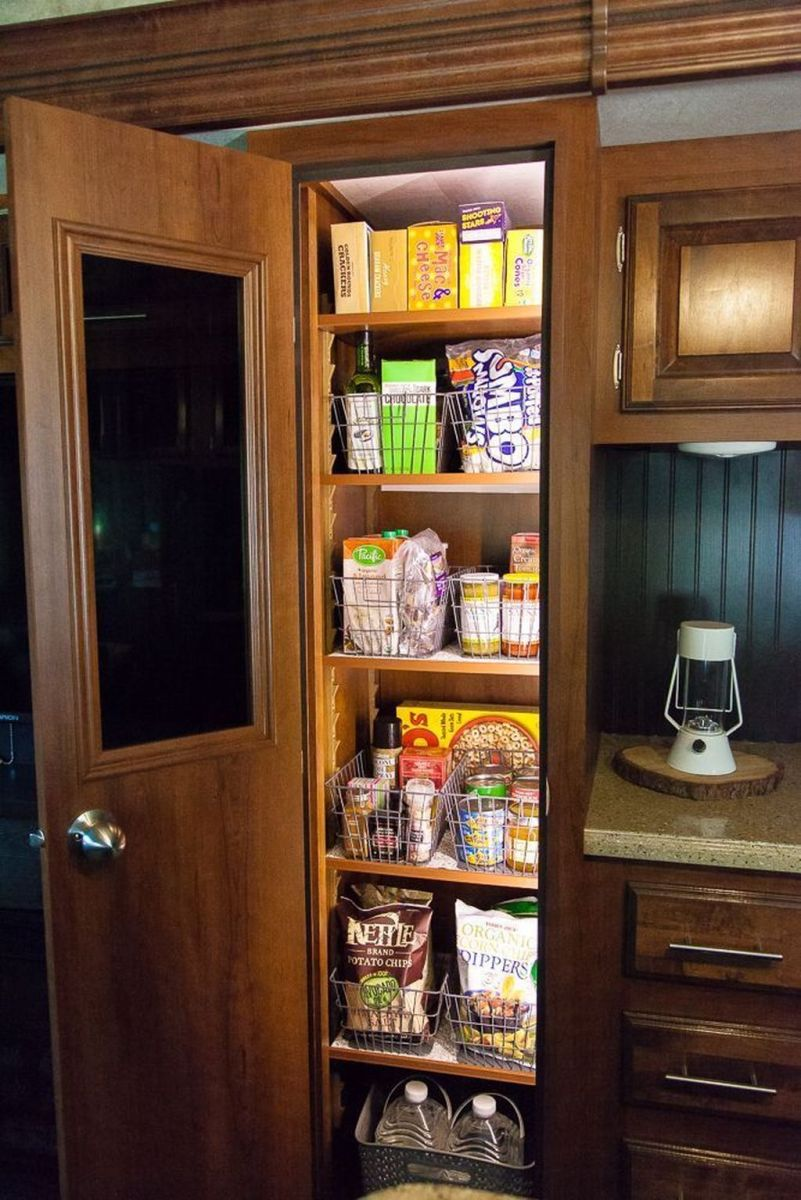 Gorgeous RV Camper Storage Ideas For Spring And Summer Holiday 22