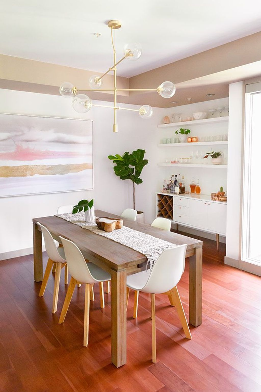 Gorgeous Small Kitchen And Dining Room Design Ideas 24