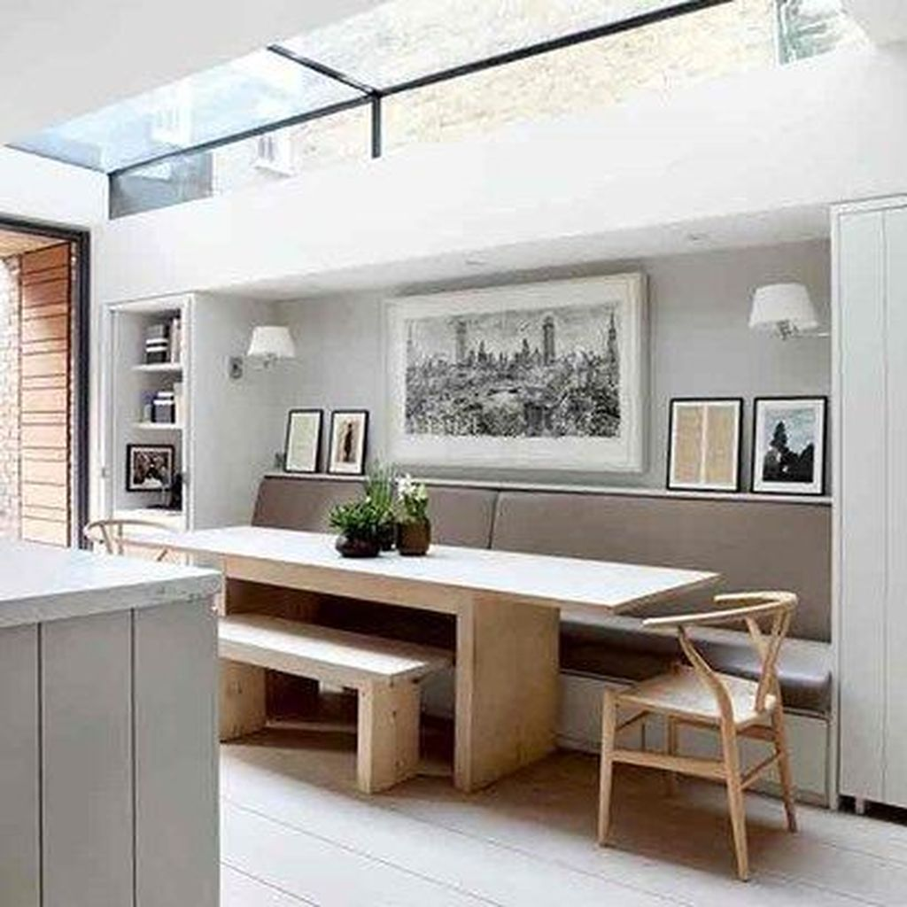 Gorgeous Small Kitchen And Dining Room Design Ideas 29