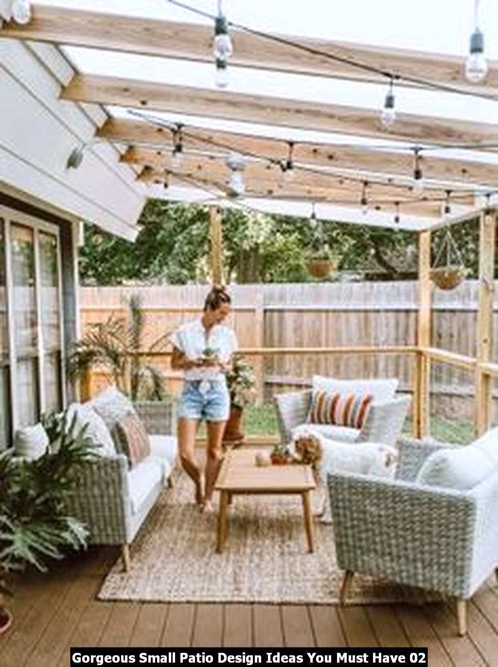 Gorgeous Small Patio Design Ideas You Must Have 02